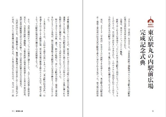 東京駅丸の内駅前広場完成記念式典